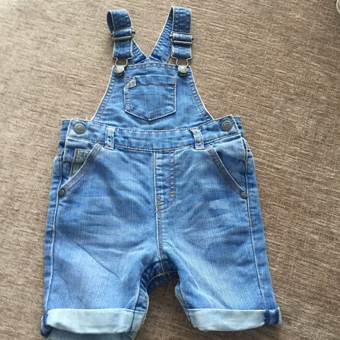 Next Denim Dungaree Dress 12-18 Months Clothing, Shoes & Accessories Baby & Toddler Clothing