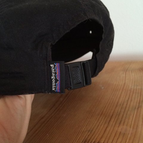 Patagonia 6-Panel Cap - Black 8 10 condition 920f56b132f7