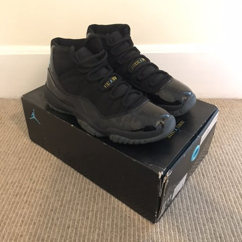 "64a5113269eea8 Air Jordan 11 Retro ""Gamma"" Blue UK 10 US 11  RARE  Sold UK - Depop"