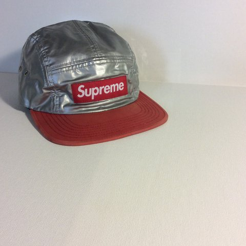 82a5fe93ae3 Supreme 5-Panel Mork   Mindy Red Chrome One Size Fits All