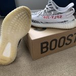 """e88c6db8278a0 Adidas Yeezy 350 """"Sesame"""". Size 14 going for 300 on stockX. - Depop"""