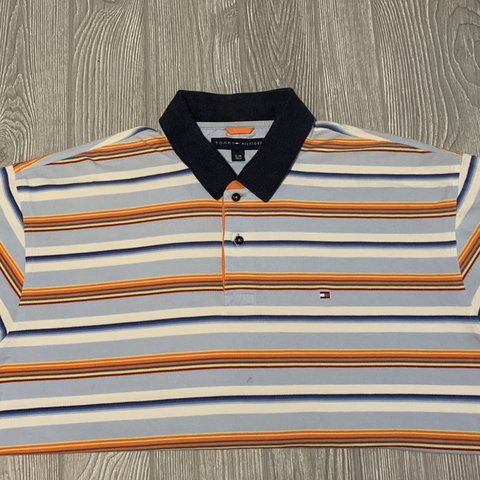 b7be2f631 Tommy Hilfiger Adult XL great summer fresh polo, bright and - Depop