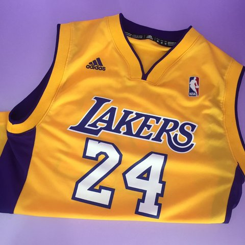 f6f1399772b Original Adidas Lakers basketball vest🏀 awesome condition - Depop