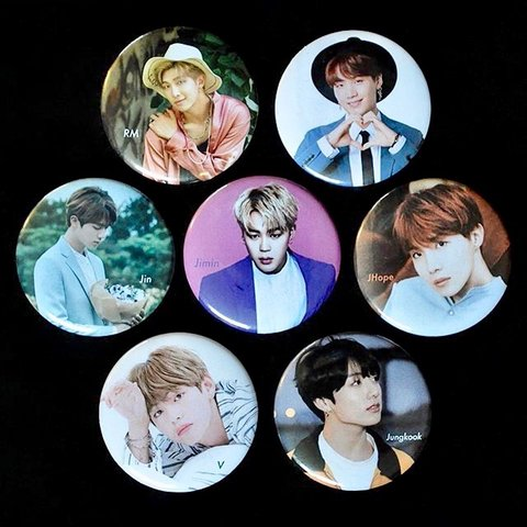 Bts All Seven Members The Perfect Set For All U Of A Depop