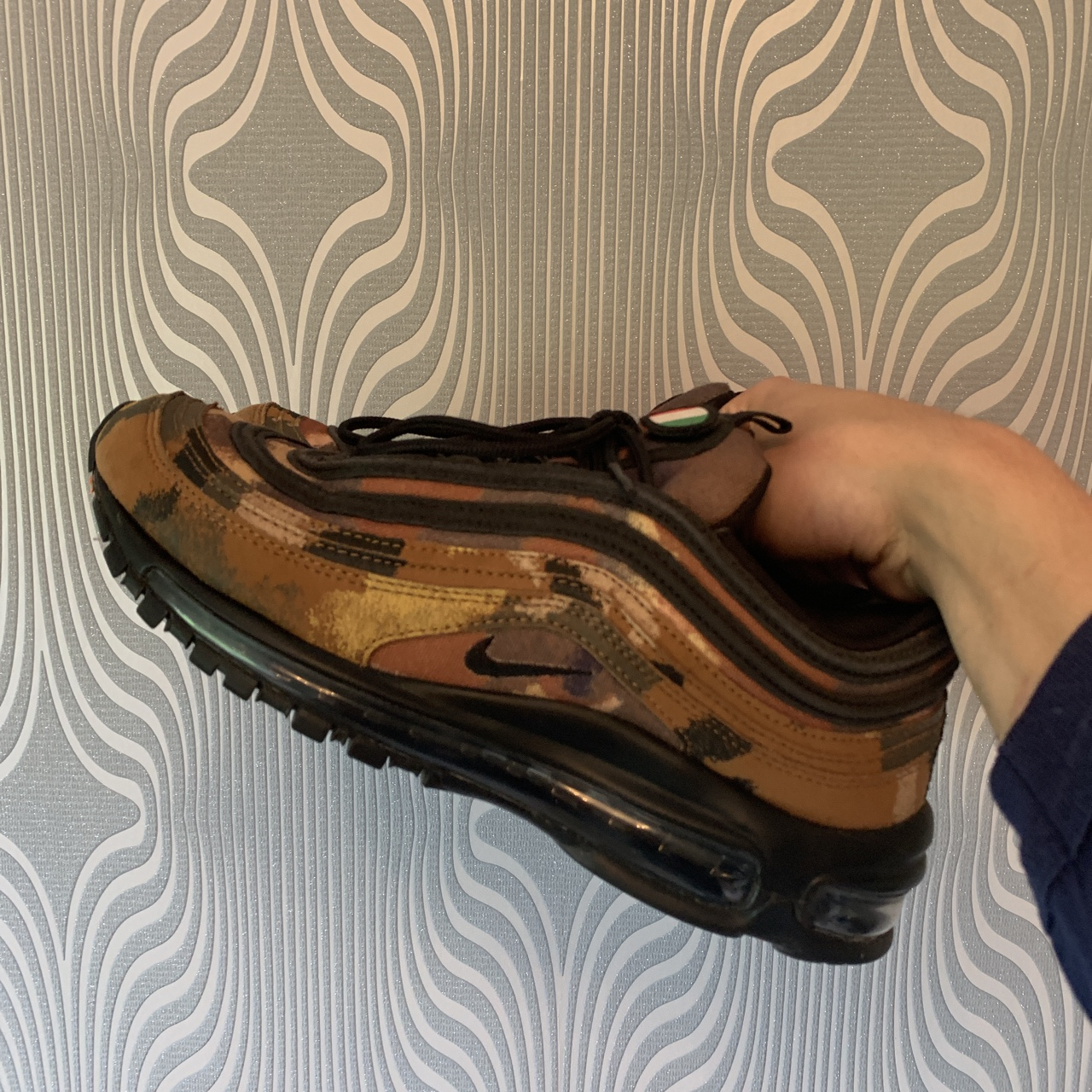 Big Discount Nike Air Max 97 'Country Camo Italy' Brown