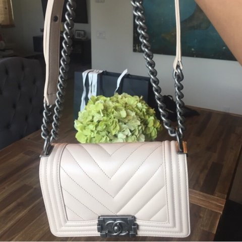 ad7084fcdd2932 Chanel in New condition. Brand new small Chanel Boy Bag in - Depop