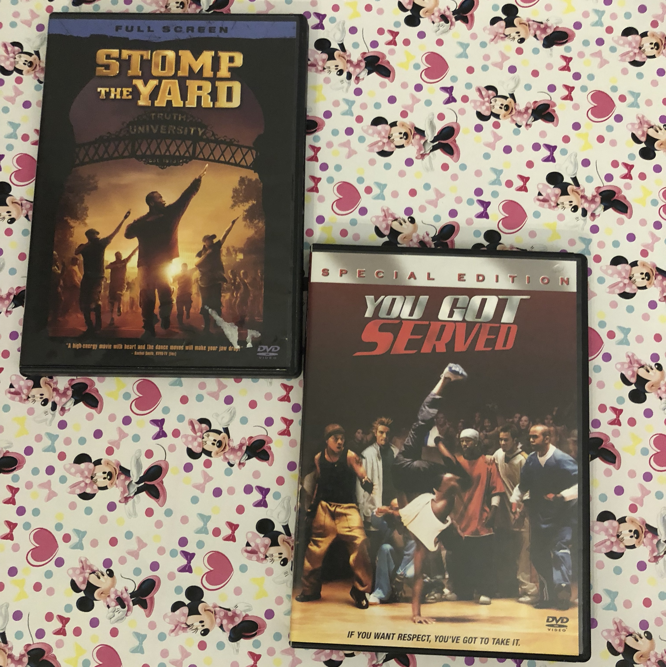 STOMP THE YARD AND YOU GOT SERVED MOVIES Like new:    - Depop