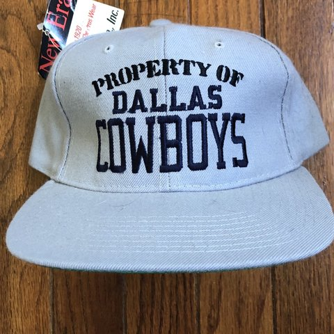 00fc312a1dd13 Vintage 90s Deadstock Dallas Cowboys NFL New Era Snapback - - Depop