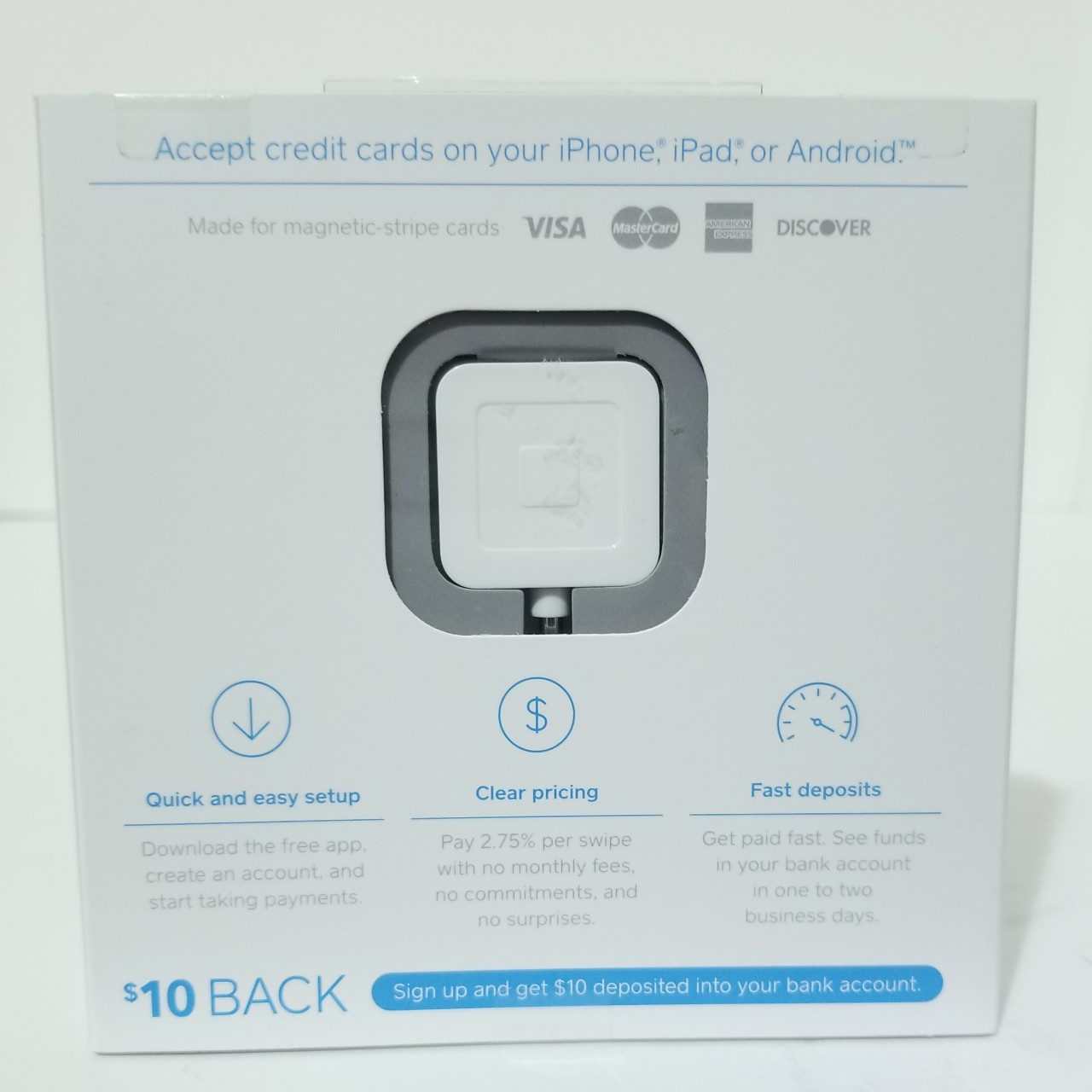 how do i download the square card reader app