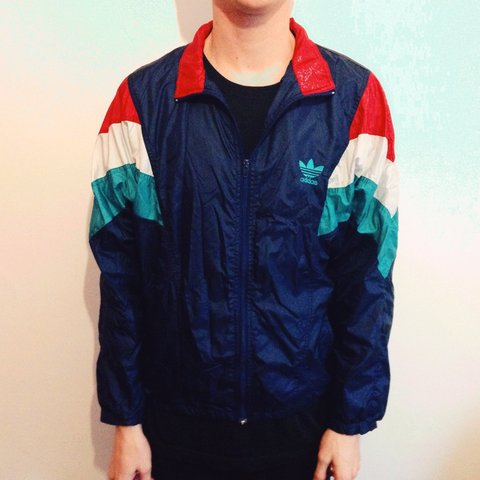 fc33b3b225b0 Vintage adidas shell tracksuit jacket. Unisex. Doesn t have - Depop