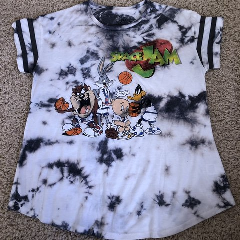 eb1d1cfa8c6a Space Jam shirt. Don t remember where I got this from but I - Depop