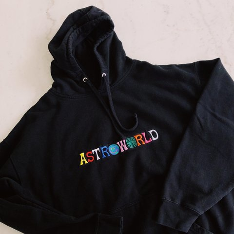 """c1e71c180e47 @nickkovacs. 2 months ago. Akron, United States. Travis Scott Astroworld """"WISH  YOU WERE HERE"""" Authentic Hoodie"""