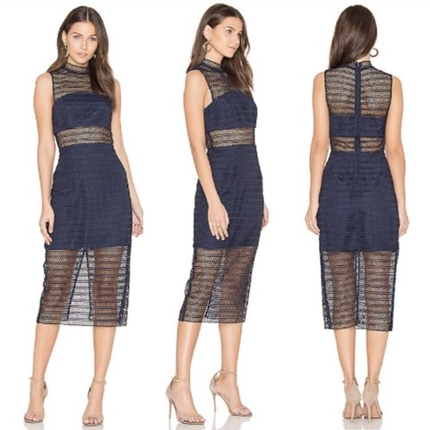 fbde42dae4a Keepsake the Label All Night Lace Midi Dress NWT  purchased - Depop