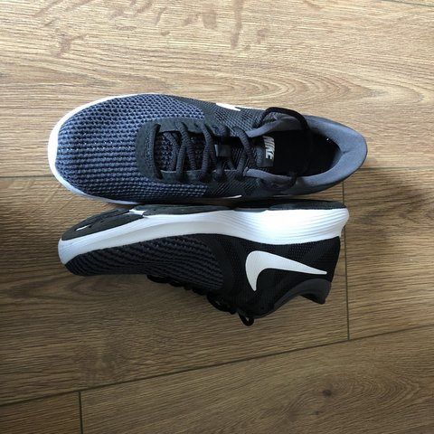 5cc18ea8f82 Size 6 Nike revolution 4 ladies trainers Only worn once me - Depop