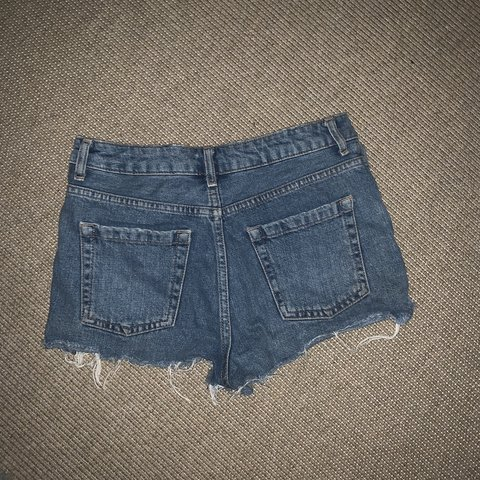 3efa7927f6 Hot pants! Denim short shorts from Topshop. Size 25. Perfect - Depop