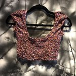 84d592b070fd33 Urban Outfitters cooperative twist crop top XS Worn once! - Depop
