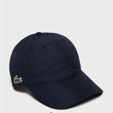 Lacoste Sport black nylon casuals cap   new with tags     - Depop a2cf4e3729a