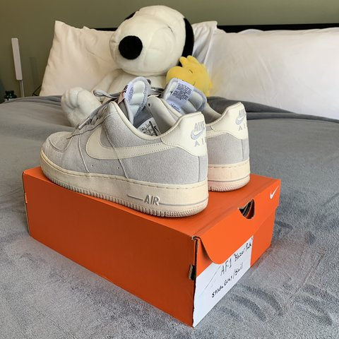 """brand new 7d565 f9062  ericsvintage. 2 months ago. Los Angeles, United States. Nike Air Force 1  """"Blazer Pack"""" (Strata Gray Sail)."""