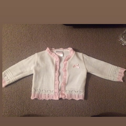 ddb05257449 Just too cute Spanish baby girl cardigan worn a couple of on - Depop