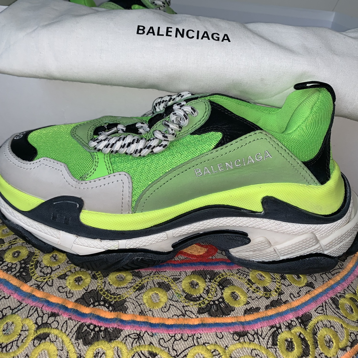 Balenciaga's Triple S Sneaker Surfaces in New Colorway