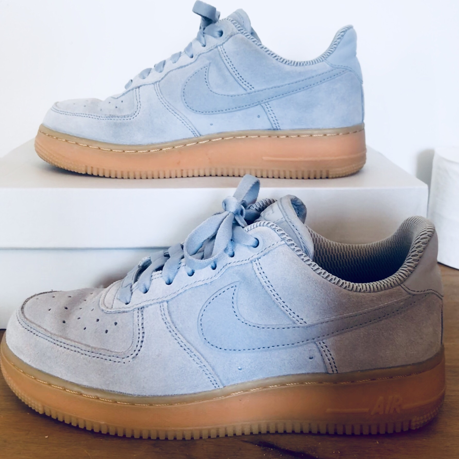 Suede Gum Blue Nike With In Force Depop Air SoleSize 1 ZTOXPuki