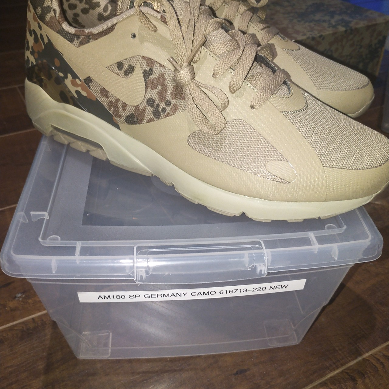 best wholesaler a few days away fresh styles DS Nike Air Max 180 SP 'Camo Pack Germany'... - Depop
