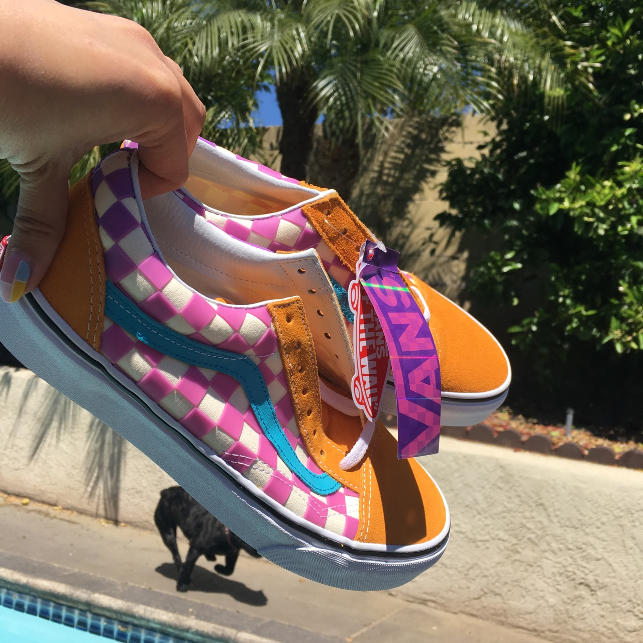 VANS Colorful 90's inspired