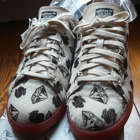 Men's Shoes Adidas Pharrell Williams Stan Smith Ponyhair Bbc Size 10 Clothing, Shoes & Accessories
