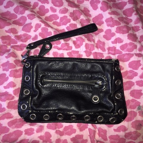 64020e87d08f Slightly worn converse clutch  converse  purse  clutch  goth - Depop