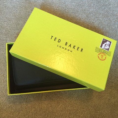 24e40d3fd5 Ted baker matte black purse, comes with box and tags still a - Depop