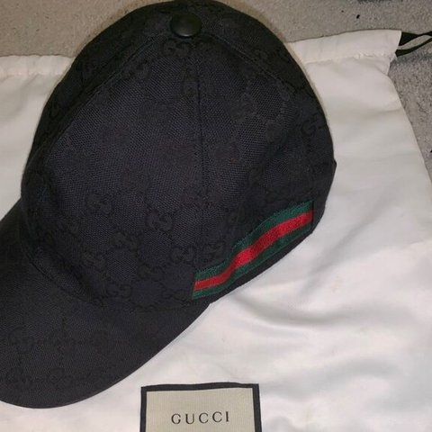 75db78fba19d96 @johnms125. 13 days ago. Droitwich, United Kingdom. Black Gucci Hat Small  Unworn