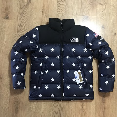 TNF The North Face Nuptse IC International Collection 700 DS - Depop 28712a8f6