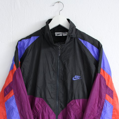 nostalgia ultra. 2 years ago. United Kingdom. Vintage retro 80s 90s Nike  shell suit   windbreaker jacket ... 69499de8b