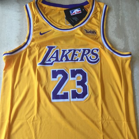 94d999c229b Lebron James Lakers Jersey Brand New with tags Size XL  nba - Depop