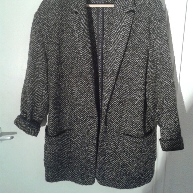 Women S Herringbone Tweed Car Coat