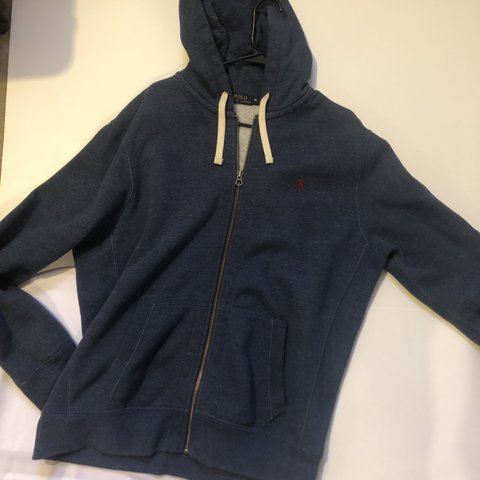 Polo Ralph Lauren Zip Up Hoodie Depop