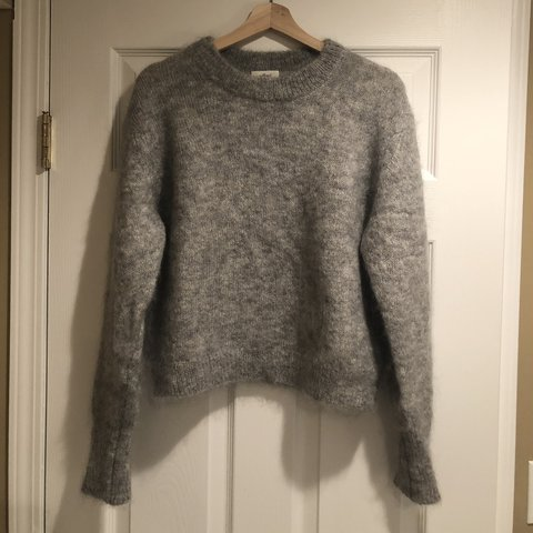 5948cabc4a5 ARITZIA WILFRED grey soft mohair sweater in like new Size  - Depop