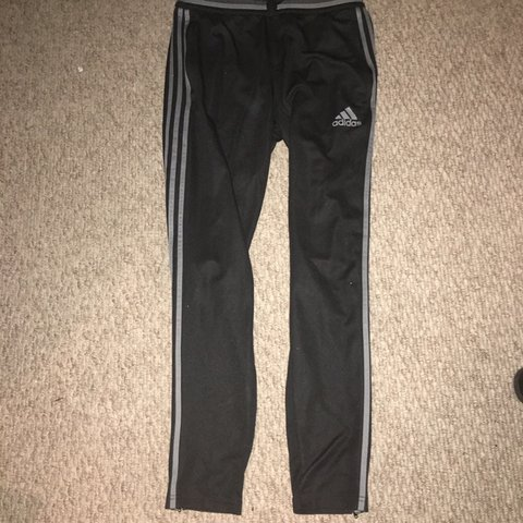 252e80c872e713 Mens Adidas black tracksuit bottoms