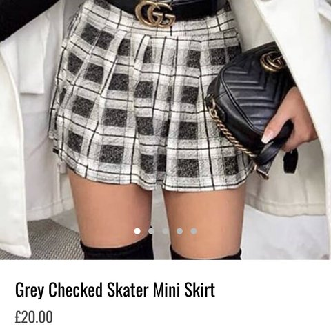 8d1df1d74c @aislyng_thrower. 3 months ago. Bury St Edmunds, United Kingdom. I Saw It  First, Grey Checkered Skater Mini Skirt ...