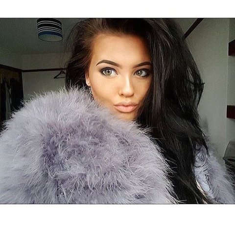 c09adc9ab11 Real ostrich feather jacket. Also available in black and - Depop