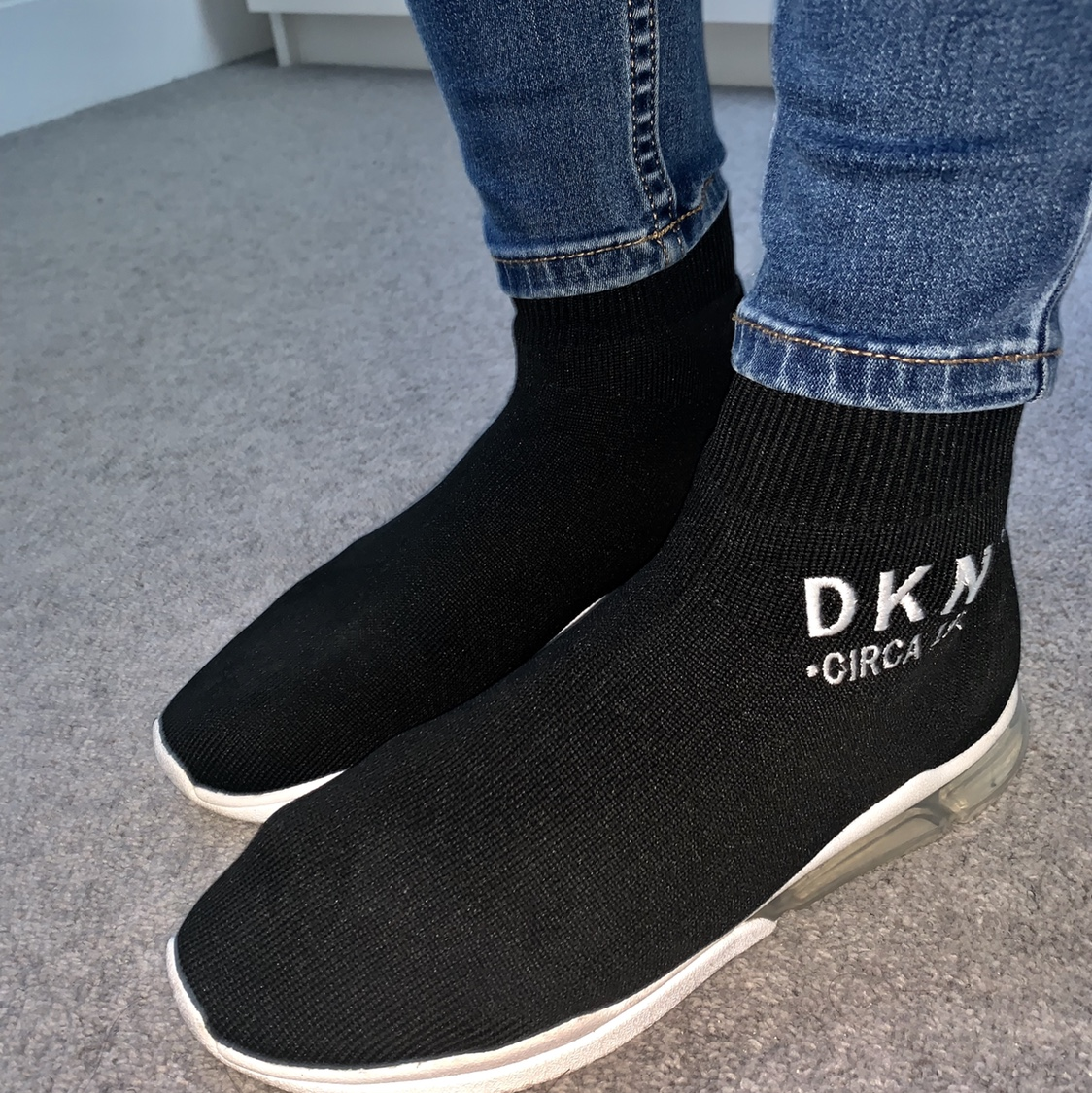 DKNY Sock trainers! Worn a couple of