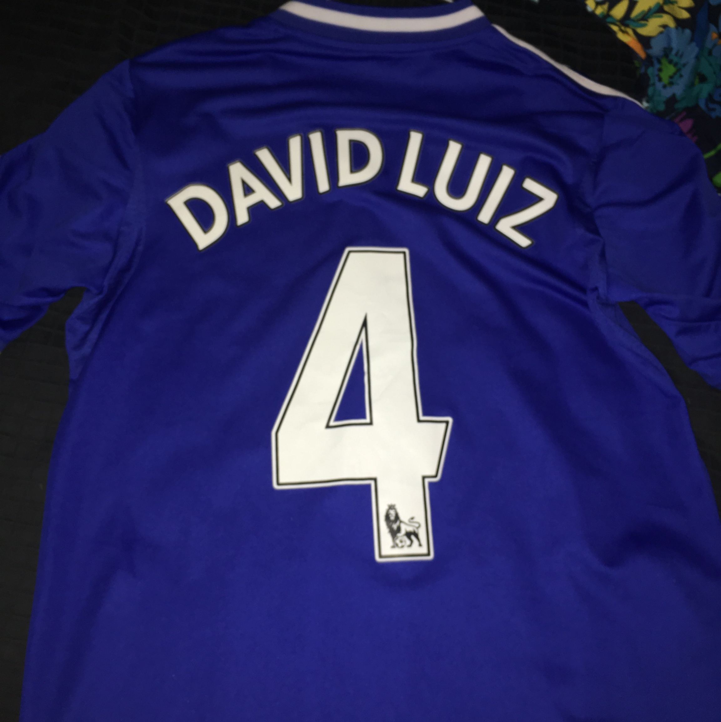 best sneakers b8a93 19439 David Luiz Jersey, my favorite player and its a dope... - Depop