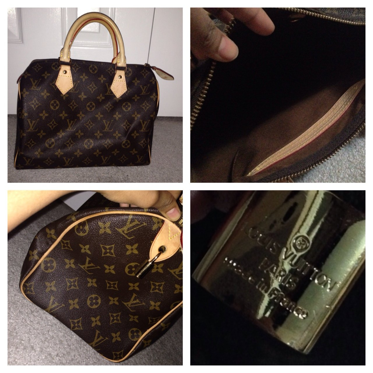 21e02c5fc389  therealb3e. 4 years ago. Canada. Never used . Louis Vuitton bag. Classic  LV logo. Mint condition (price ...