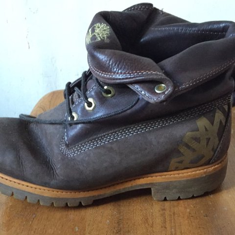 f3ad1f09f980 Timberland roll top boots (brown