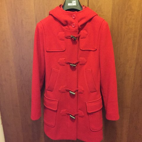 size 40 042b3 d890d cappotto montgomery UNITED COLORS OF... - Depop