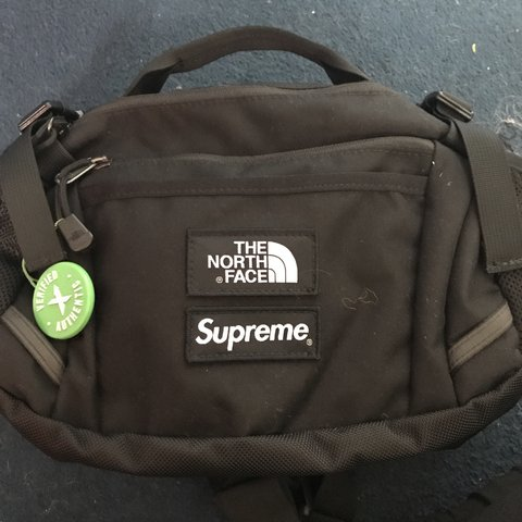 438e38c2 @baileyhadley. 2 months ago. Maidstone, United Kingdom. The north face  supreme expedition waste bag %100 authentic ...