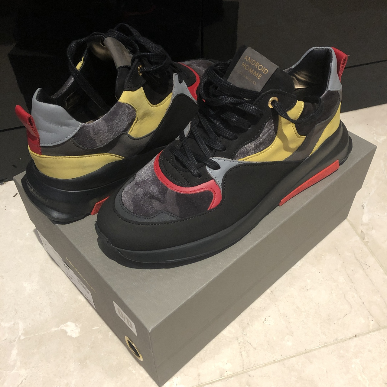 MALIBU RUNNER ANDROID HOMME -Never been