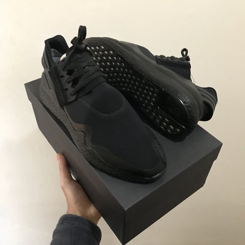 b9fb6765864bd Adidas Y3 Retro Boost. In size 9 UK. Customised Ultra boost - Depop