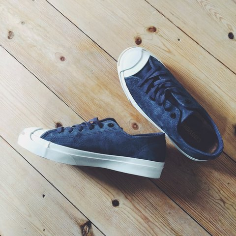 ec95b3a3ee7c Brand New Signature Jack Purcell Converse Unisex Trainers. 7 - Depop