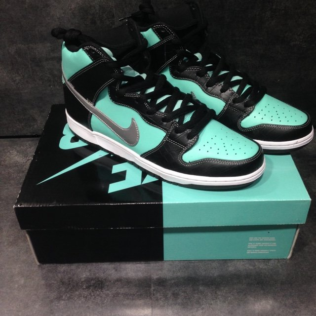 fb686b01a79c5 ... wholesale nike dunk high prm sb nike sb dunk diamond collective depop  572d3 10e98